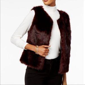 Olivia & Grace Faux Fur Vest